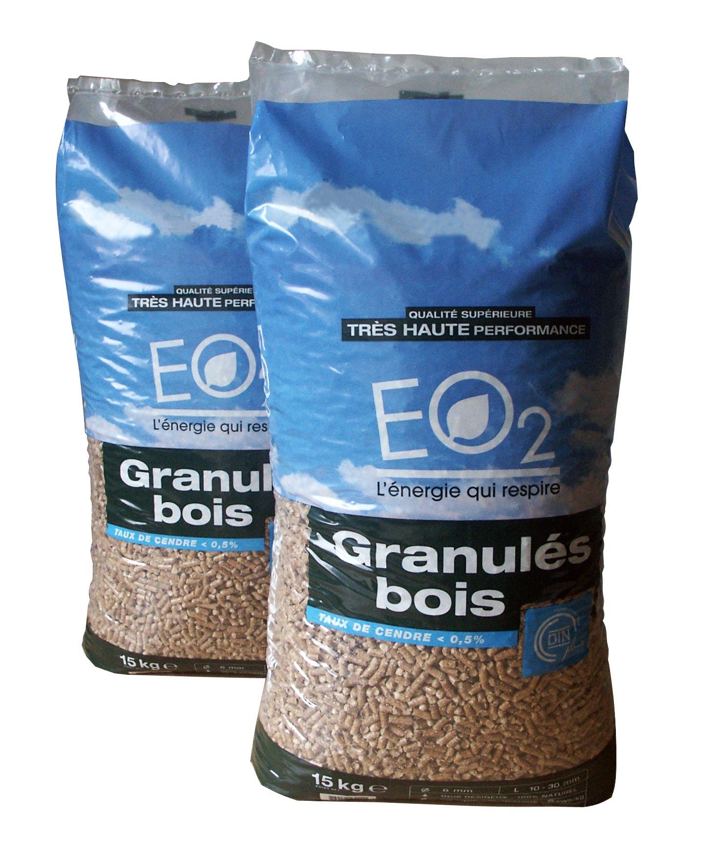 d063e8e9cc07a Granulés bois EO2 – sac 10 kg - DINplus | EO2